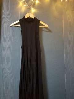 Terranova long black dress