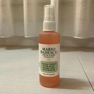 mario badescu玫瑰蘆薈保濕噴霧 118ml