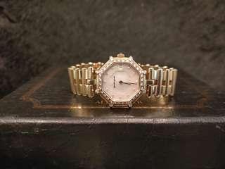 Gerald Genta Success 18k yellow gold with diamonds