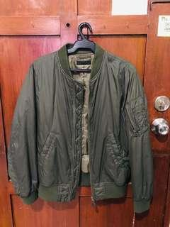 Uniqlo Green Jacket