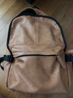 Leather backpack - ultralinx