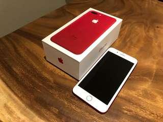 IPhone 7 Plus Red edition, 265GB