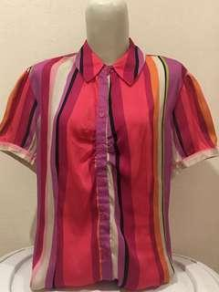 (SALE) Blouse Accent Pelangi