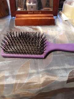 🚚 紫色梳子