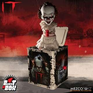 [PRE ORDER] Mezco - Burst-A-Box - IT (2017)