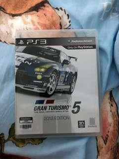 GT5 2013 PS3 Game
