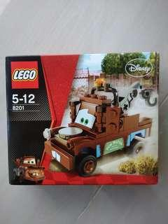 LEGO 8201 - Classic Mater from Disney Cars (discontinued set)