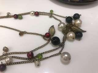 Necklace multicolours (new)