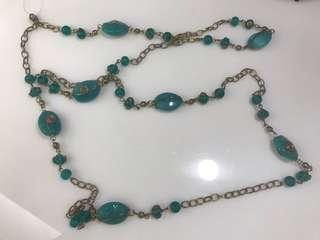 Necklace (Turquoise) new