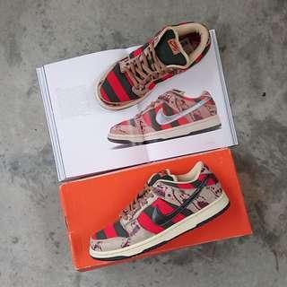 "Nike Dunk SB Low ""Freddy Krueger"""