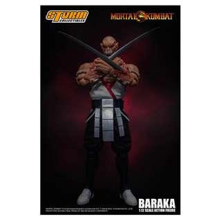[PRE ORDER] Storm Collectibles - 1:12 Scale Action Figure - Mortal Kombat - Baraka