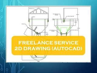 FREELANCE SERVICE 2D DRAWING