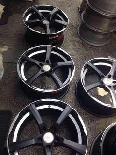 """112🇩🇪Made in Germany. BE by Breyton- Force 2 -19"""" rim"""