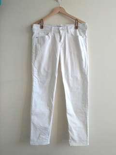 🚚 Net 白色長褲 38