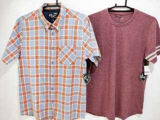 Polo and Tshirt package sale D97 U.S Brand Authentic