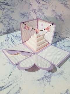 🚚 🎂生日蛋糕卡片禮物盒🎁