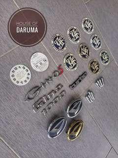 Gino L7 Emblem JAF Accesories
