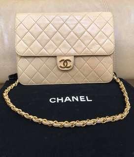 Authentic Chanel Lambskin 22cm