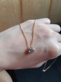 NON-TARNISH ROSE GOLD NECKLACE