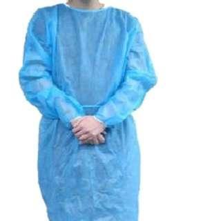 """""""Blossom"""" 一次性保護衣 - 幼橡筋袖 (10件/包)"""