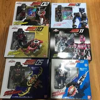 6 Types of Kamen Rider