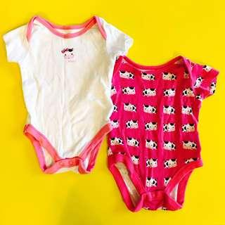 Mothercare Cow Romper 0-3 m