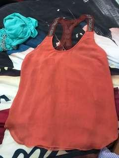 """REPRICED!! """"Wash & Dry"""" beaded top"""
