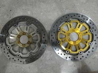 Cb400 disc rotor front super 4