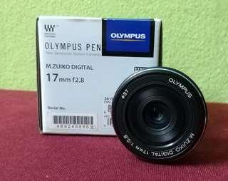 Olympus M.Zuiko 17mm f2.8