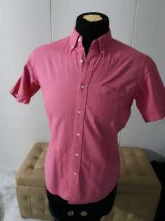 Uniqlo Pink Slim Fit Shirt