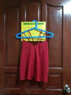 Red String Top