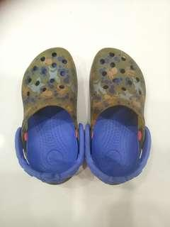 Authentic Crocs Ocean Themed Sandals