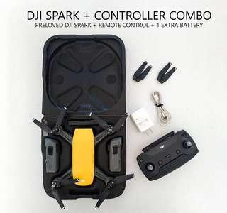 Anybody who wants to buy a Second hand DJI Spark Drone? Send us a message before placing an order. Thank you! Fixed price. No haggling.   #DJISparkDrone #Drones