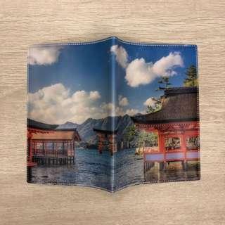 Japan temple passport holder 日本神社相護照證件套