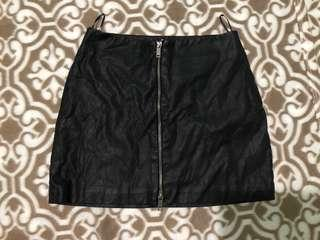 Zara Leather skirt