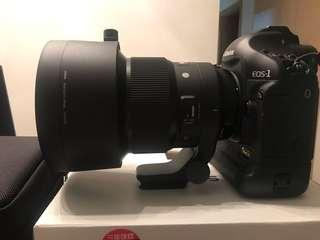 Sigma 105mm F1.4 DG HSM Art  CANON
