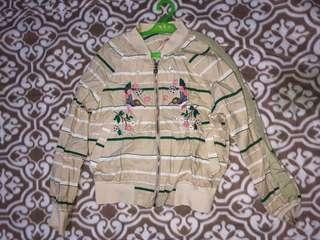 Korean floral jacket