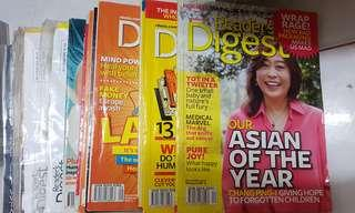 Reader's digest 2011 and 2012