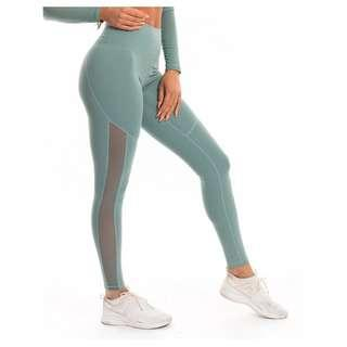 ECHT Merge Leggings Mint Green Pastel Mesh Detail SOLD OUT STYLE GymShark Twotags Elite Eleven