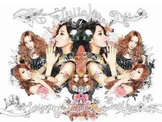 SNSD TTS TWINKLE ALBUM WITHOUT PHOTOCARD