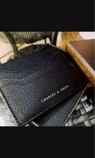 (PO)Charles and keith card holder