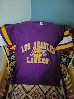 Vintage los angeles lakers NBA tshirt