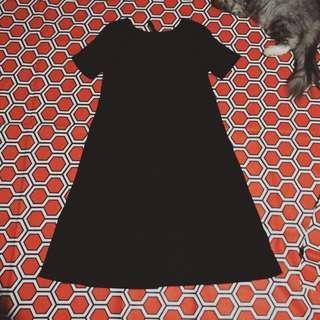 Stradivarius/Simple/Black/Dress