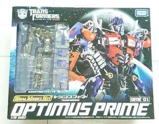 TAKARATOMY TRANSFORMERS OPTIMUS PRIME 1/35 SCALE DUAL MODEL KIT DMK 01 NEW!!!