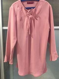 Topgirl Blouse in Pink
