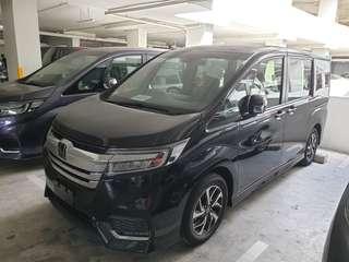 New Honda Stepwagon Spada 1.5A for rent