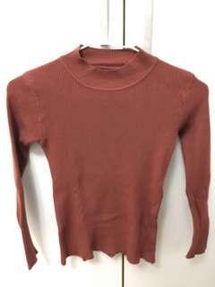 🚚 棗紅色針織衫#衣櫃大掃除