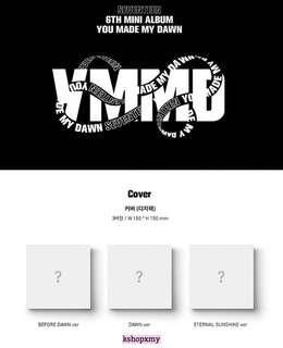 Seventeen 6th Mini Album - ' You Made My Dawn '