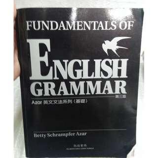 ENGLISH GRAMMAR第三版 azar英文文法系列(基礎) 敦煌書局