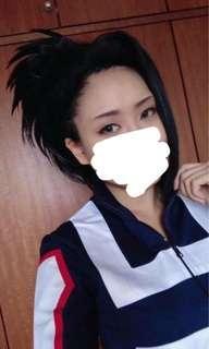 [Cosplay] Momo Yaoyorozu wig